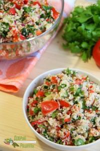 Табуле - салат с кускусом. Рецепт
