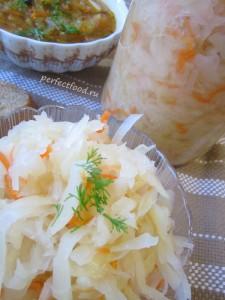 Приготовление квашеной капусты - рецепт с фото и видео