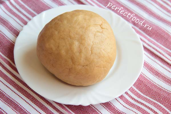 песочное печенье без яиц для детей рецепт