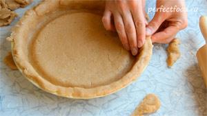 Как приготовить песочный пирог с творогом. Рецепт с фото 2