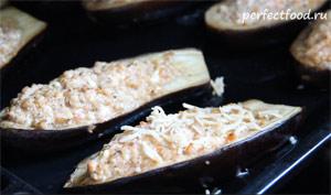 Фаршированные баклажаны в духовке - рецепт с фото 6