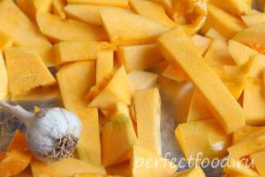 Суп-пюре из тыквы рецепт с фото 2