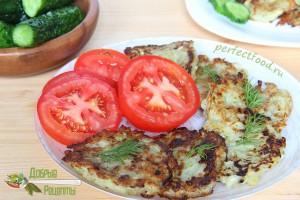 Как приготовить драники из картофеля и кабачов - рецепт с фото
