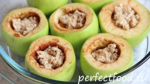 Фаршированные яблоки - рецепт с фото 2
