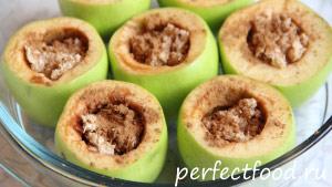 Фаршированные яблоки - рецепт с фото 3