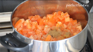 Овощное рагу рецепт с фото - рагу с кабачками