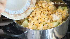 овощное рагу с кабачками. фото-рецепт