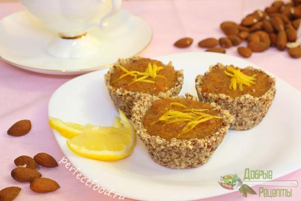 Пирожные с хурмой — рецепт с фото и видео