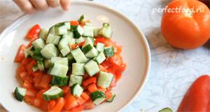 Шопский салат. Рецепт с фото 4