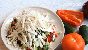 Шопский салат. Рецепт с фото 6