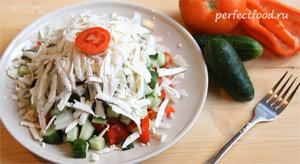 Шопский салат. Рецепт с фото 7