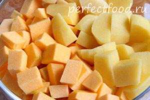 Тыквенный суп-пюре - рецепт с фото 1