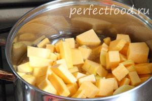 Тыквенный суп-пюре - рецепт с фото 2
