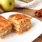 Насыпной яблочный пирог — рецепт с фото и видео