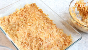 Рецепт насыпного пирога с яблоками - фото 3