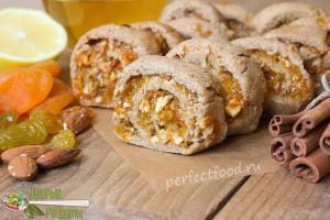 Ржаное печенье постное - рецепт с фото