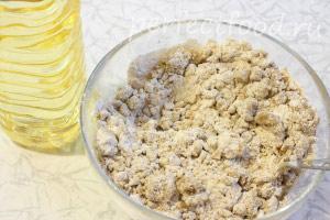 Ржаное печенье постное (веганское) - рецепт с фото 2