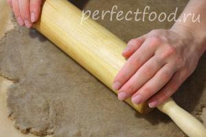 Ржаное печенье постное (веганское) - рецепт с фото 7