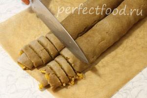 Ржаное печенье постное (веганское) - рецепт с фото 11