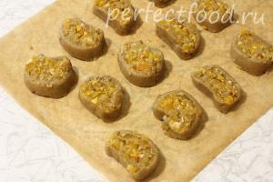 Ржаное печенье постное (веганское) - рецепт с фото 12