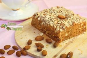 Вафельный торт рецепт с фото