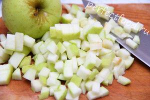 яблоки для винегрета