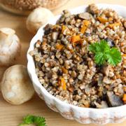 Гречневая каша с грибами — рецепт с фото и видео