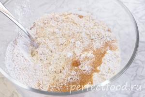 Мука с коричневым сахаром для постных галет