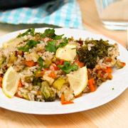 Овощная паэлья — рецепт с фото