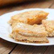Пирог насыпной с творогом — рецепт с фото