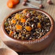 Пшеничная кутья с изюмом и орехами — рецепт с фото
