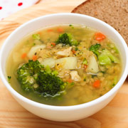 Суп из чечевицы для детей - рецепт с фото