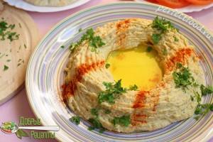 Хумус из нута - рецепт