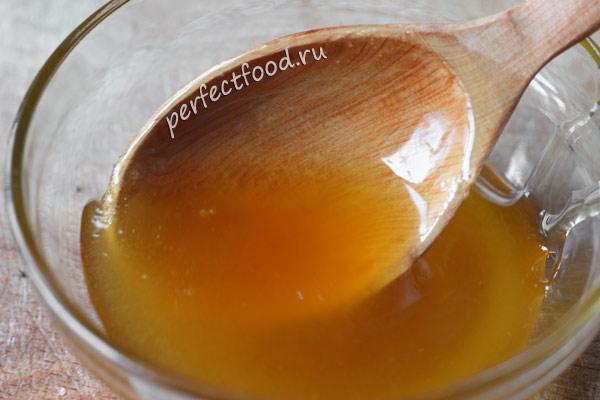 Мёд для пшеничной кутьи с изюмом