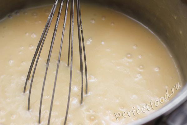 Крем из масла и сгущёнки для торта