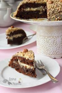 Шоколадный торт без яиц - рецепт