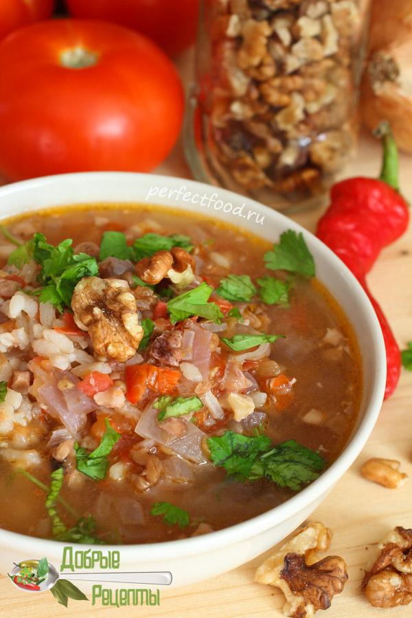 Суп харчо  - рецепт с фото