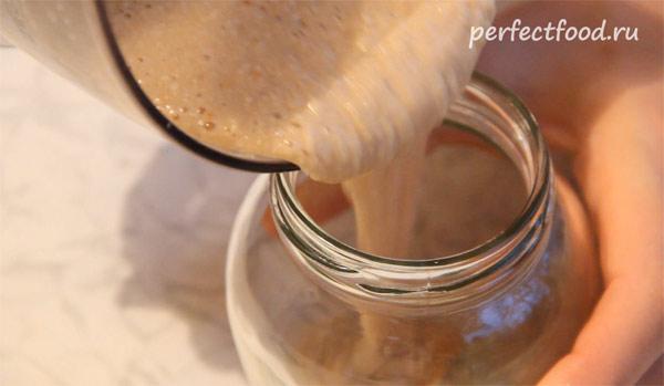 Кунжутная паста тахини - рецепт приготовления