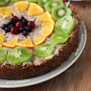 Сыроедный кокосовый торт — рецепт с фото и видео
