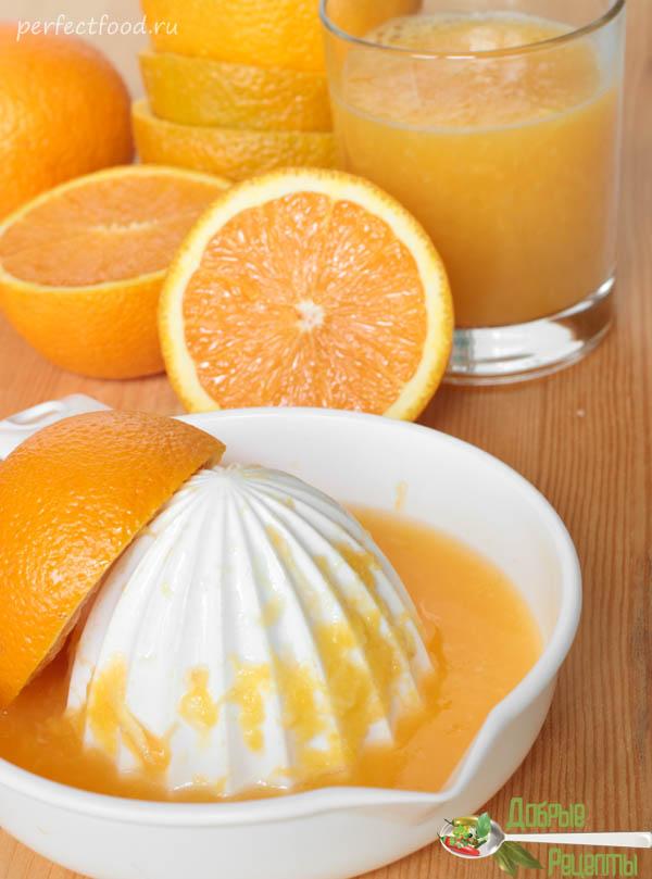 Ручная соковыжималка для цитрусовых. Апельсиновый сок