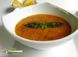 Турецкий суп-пюре из чечевицы - рецепт с фото