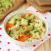 Суп из сельдерея — рецепт с фото