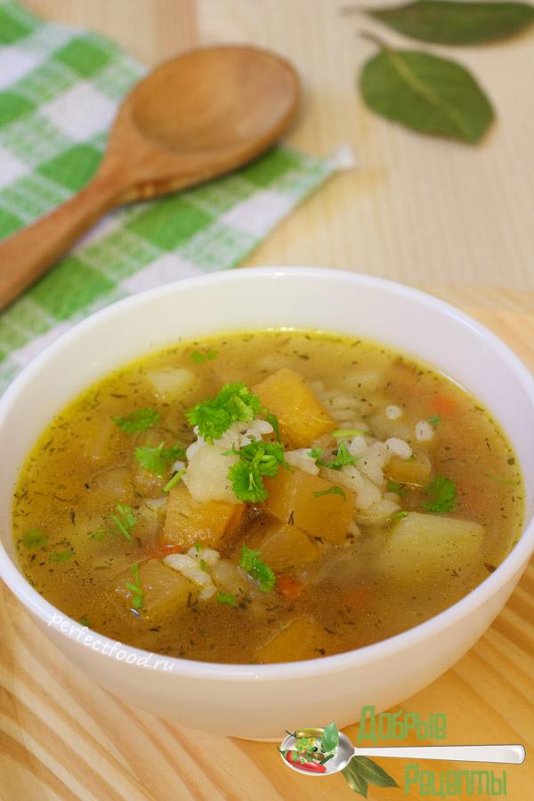 Как приготовить постный суп с репой - рецепт с фото