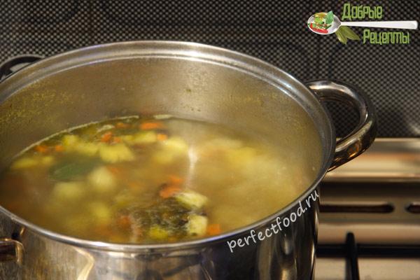 Суп из репы - рецепт с фото