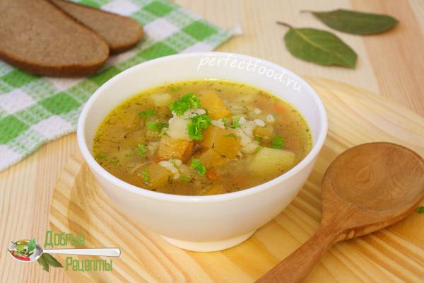 Суп с репой - рецепт