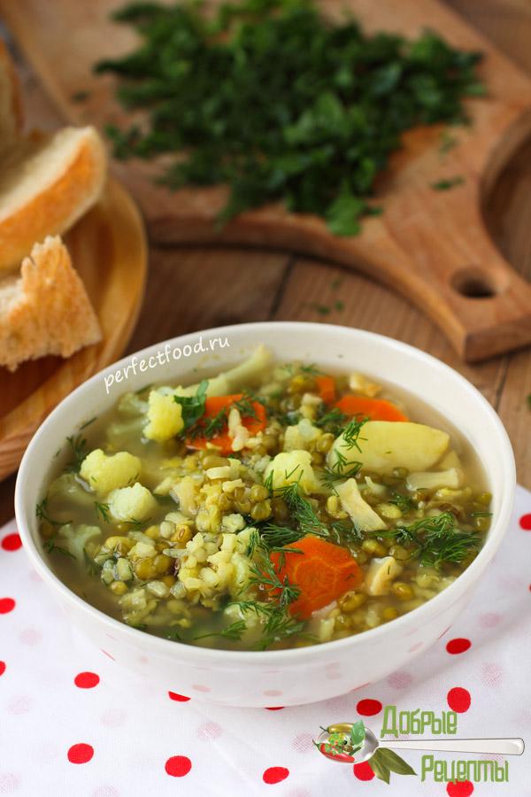 Суп из маша - рецепт с фото