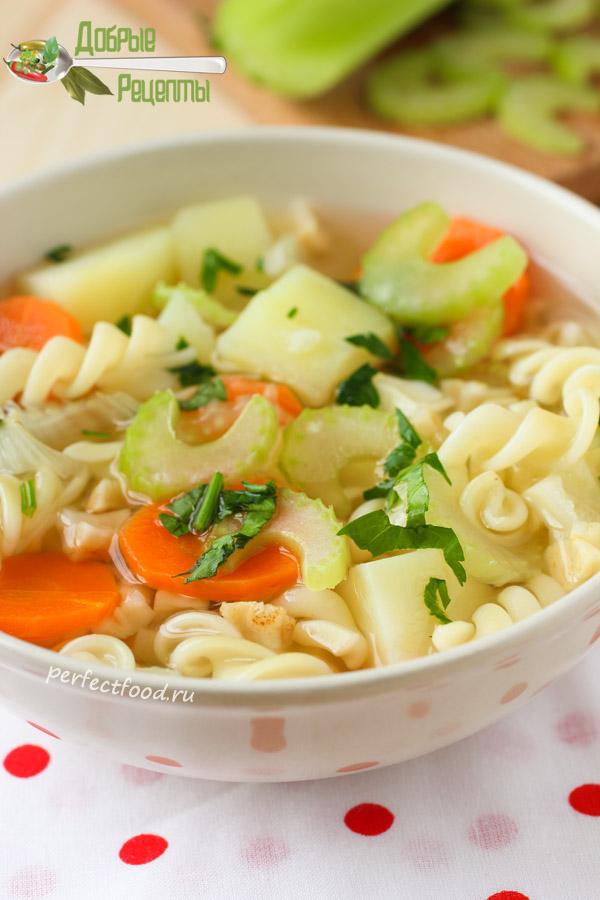 Как приготовить суп из корня сельдерея