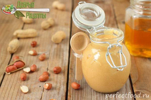 Арахисовая паста - рецепт с фото
