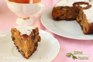 Фруктовый кекс в мультиварке - рецепт