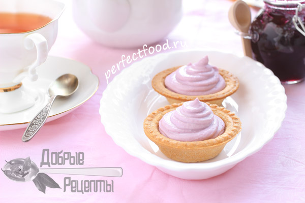 Тарталетки с начинкой сладкие - рецепты с фото